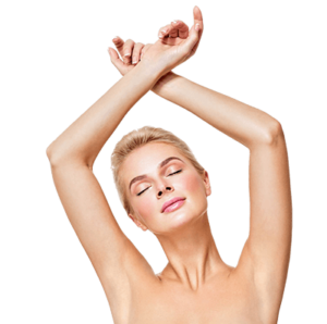 one small and one large area laser hair removal