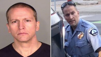 Photo of Ex-officer Derek Chauvin is arrested for the George Floyd killing and charged with murder