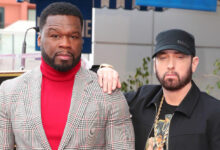 "Photo of 50 Cent Claims Eminem Is The ""Best Rapper In The World"""