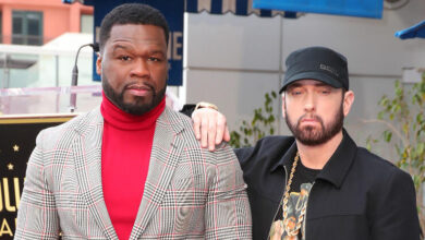 """Photo of 50 Cent Claims Eminem Is The """"Best Rapper In The World"""""""