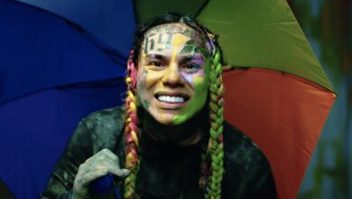 Photo of 6ix 9ine Responds With Pop Smoke Tribute After The Game Disses Him