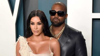 Photo of Kanye West Claims He Has Been Trying To Divorce Kim Kardashian