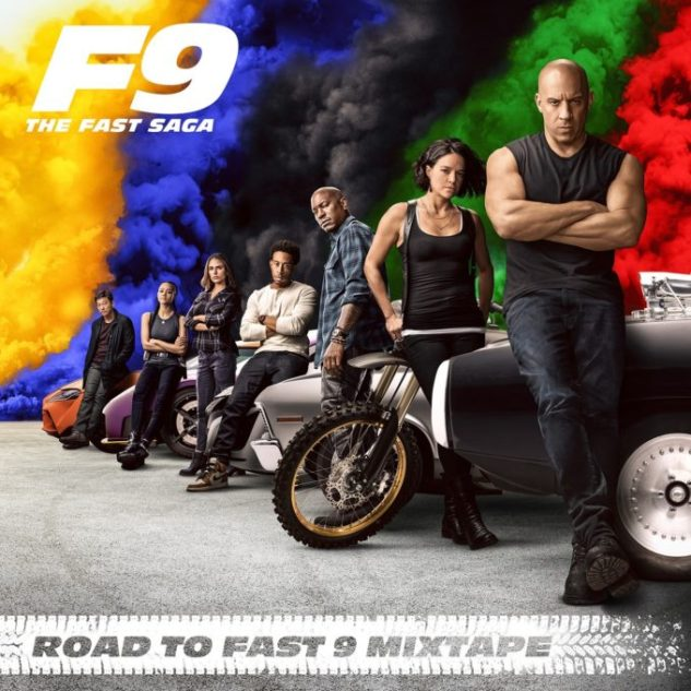 Road To Fast 9 Mixtape Featuring Wiz Khalifa, Tyga, Tory Lanez and Many More Released.