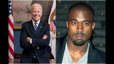 Photo of Presidential Candidate Joe Biden Low Key Disses Kanye West