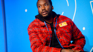 Photo of Meek Mill Respond To Kanye West's Tweets Suggesting He Hooked Up With Kim Kardashian
