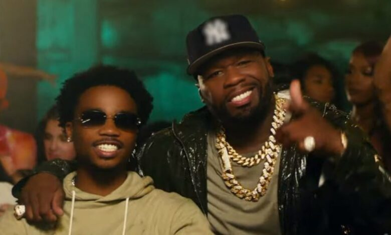 50 Cent Shares Behind The Scenes Footage For Pop Smoke's 'The Woo' Music Video