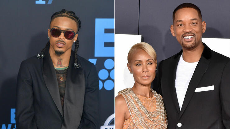 Will Smith Denies That He Approved Of Jada's Affair With August Alsina