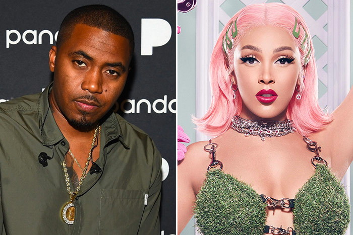 Nas Name Drops And Disses Doja Cat In His New Song 'Ultra Black'