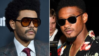 """Photo of The Weeknd Clears The Air On His """"Feud"""" With Usher"""