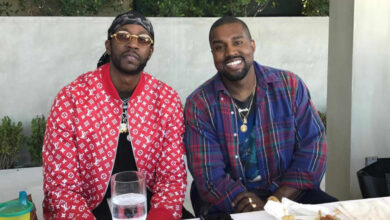 Photo of Kanye West And 2 Chainz Have A Blast While Enjoying And Watching The NBA Final