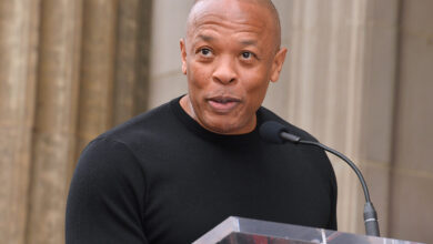 """Photo of Dr. Dre """"Safely Home"""" After Discharge From Hospital – Says Ice T"""