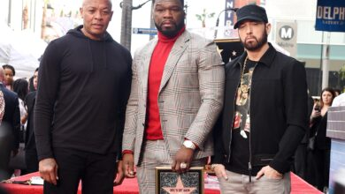 Photo of 50 Cent Reflects On Receiving Hollywood Walk Of Fame Star