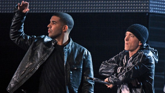 Drake And Eminem Top The List Of Artists With The Highest Streams On Spotify!