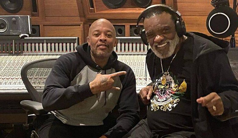 Dr. Dre Hits Studio With Ron Isley And Here's What To Expect