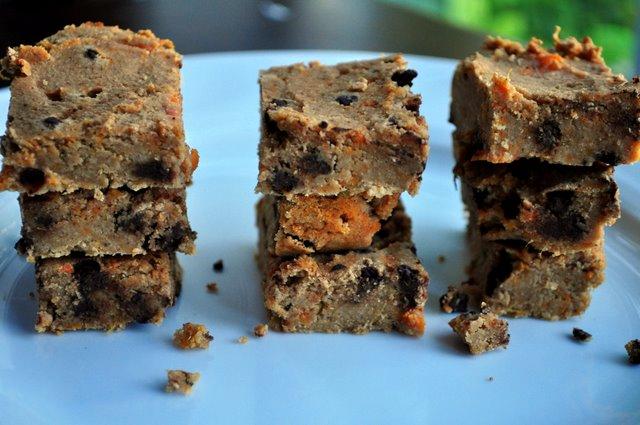Paleo Sweet Potato Gingerbread Bars - whatrunslori.com