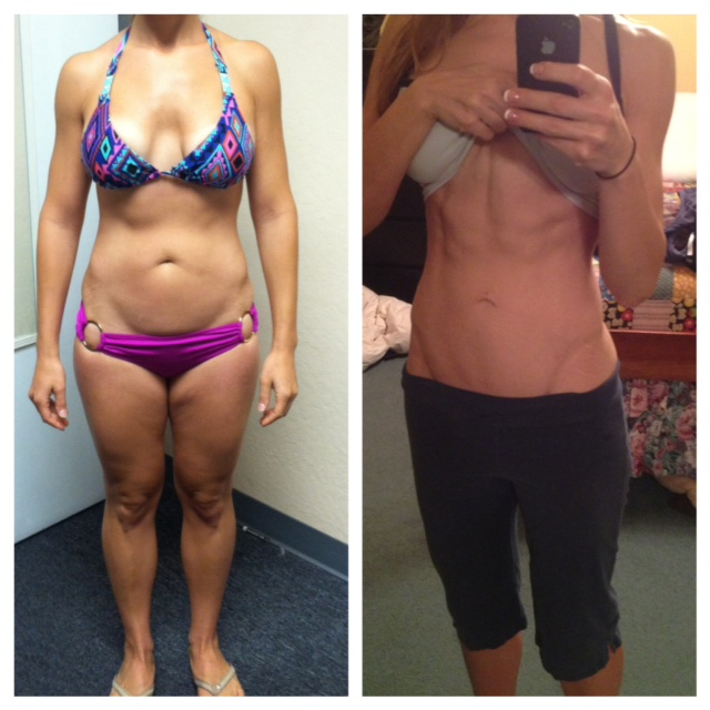 Bikini Competition Diet 8 Week Progress