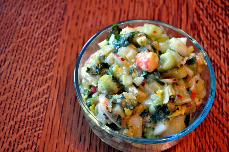 Lazy Girl's Shrimp Ceviche