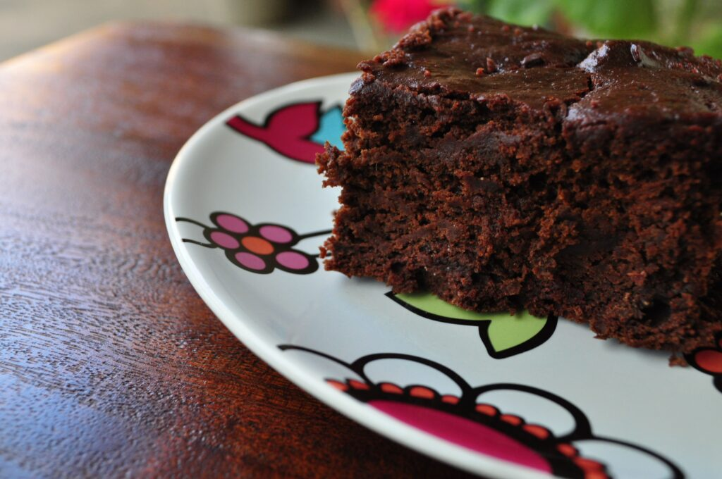 Chocolate Chip Beet Cake