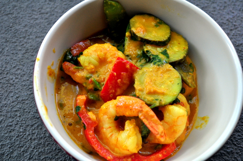 Indian Inspired: Paleo Coconut Curry Shrimp