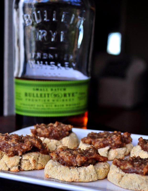 Bourbon Pecan Pie Cookies