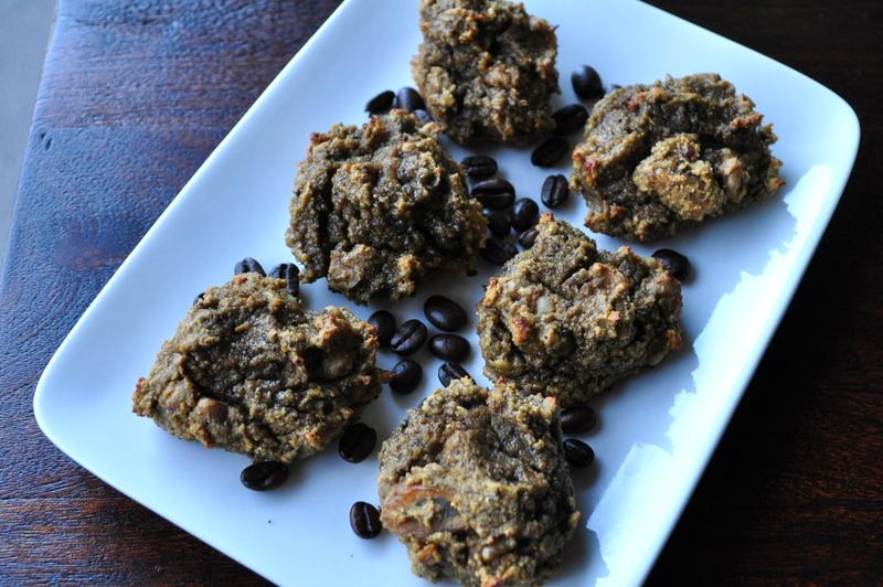 Paleo Chocolate Chip Cinnamon Fig Coffee Cookies