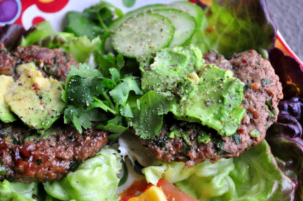 Best ever Paleo Burgers