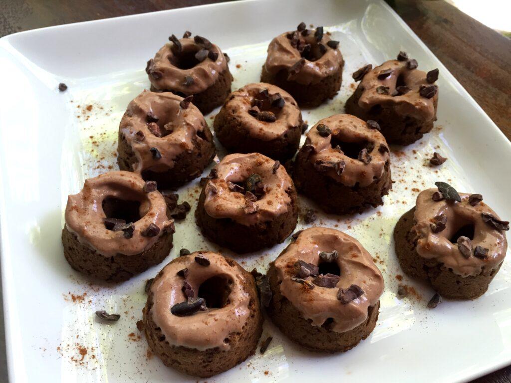 Chocolate Paleo Doughnuts