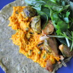 Pumpkin Chicken Curry wrap