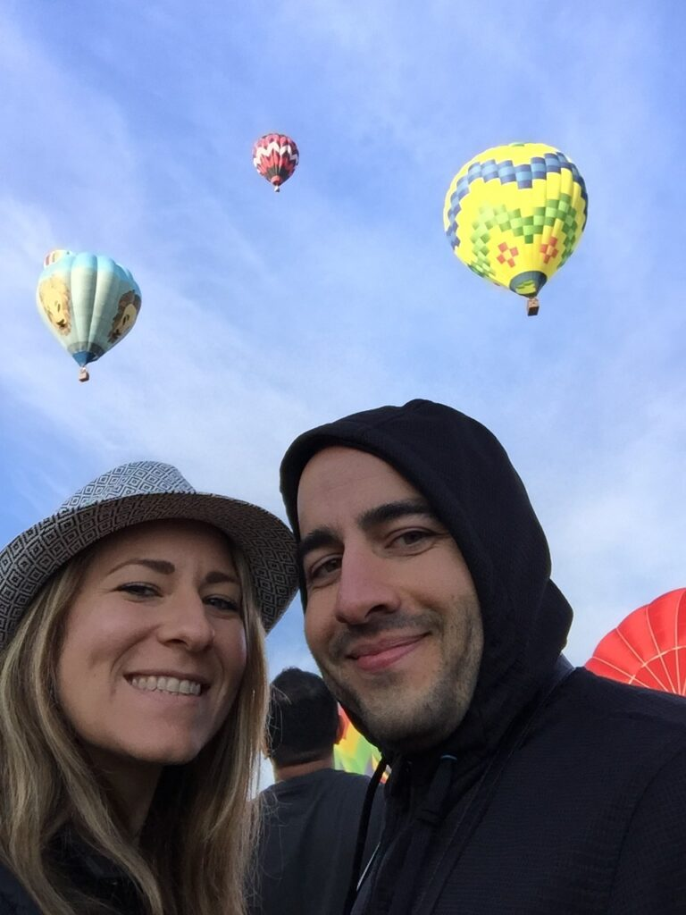 Hot Air Balloon Show, Sonoma County, California
