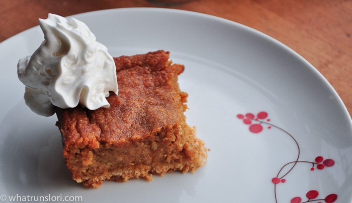 Paleo Pumpkin Bars - whatrunslori.com