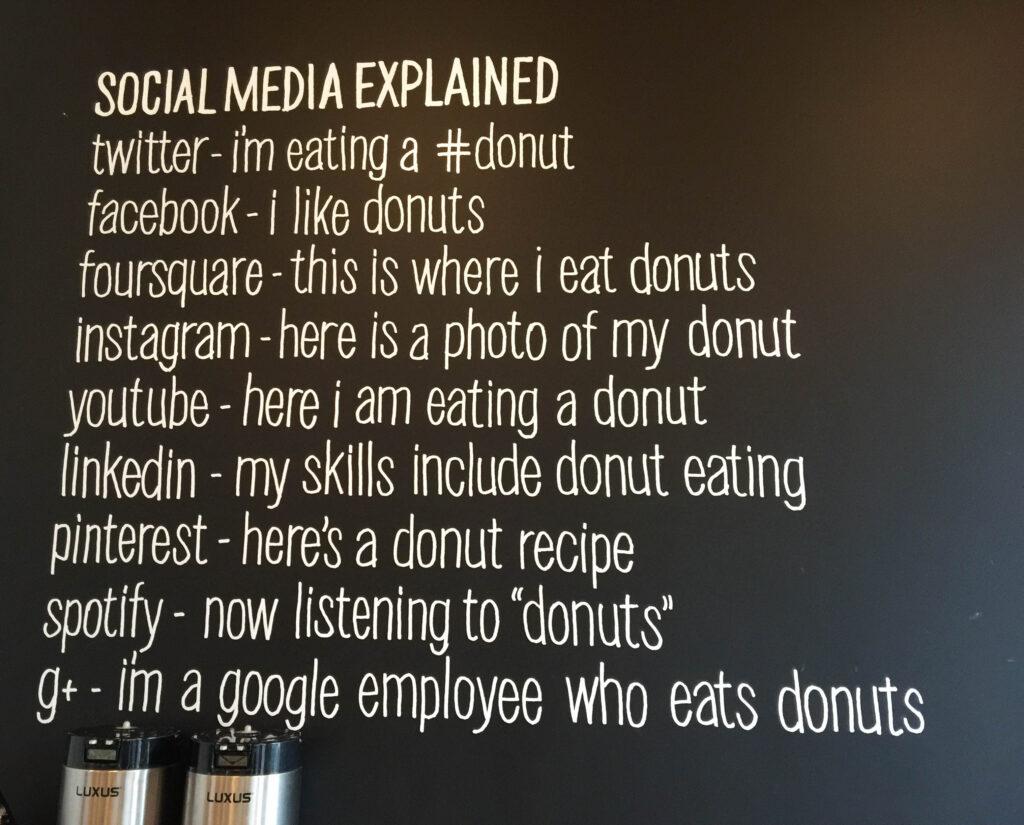 Portland Adventures Social Media at Blue Star Donuts