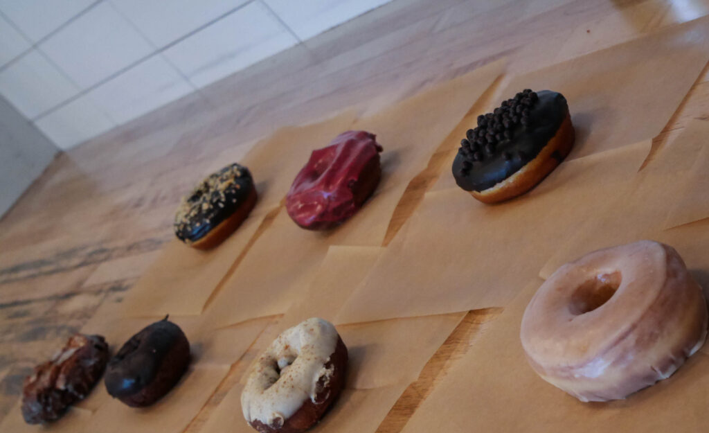 Portland Adventures at Blue Star Donuts