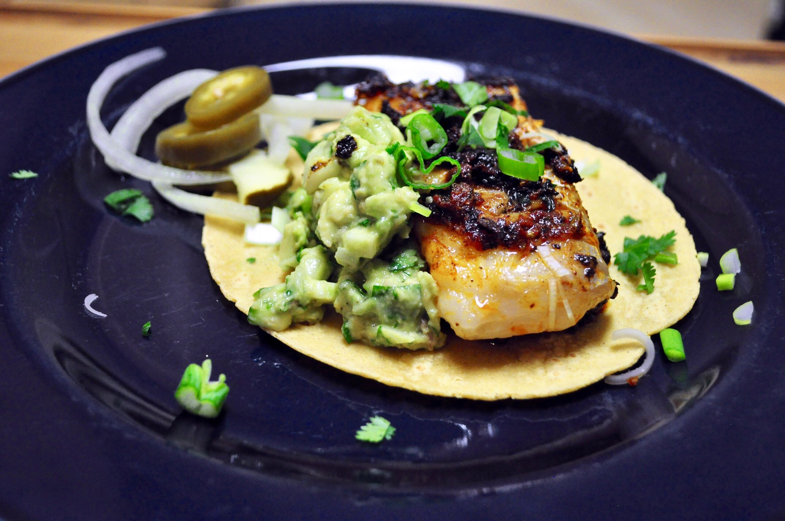Epically Spiced Cod Fish Tacos with Paleo & Low Carb Option