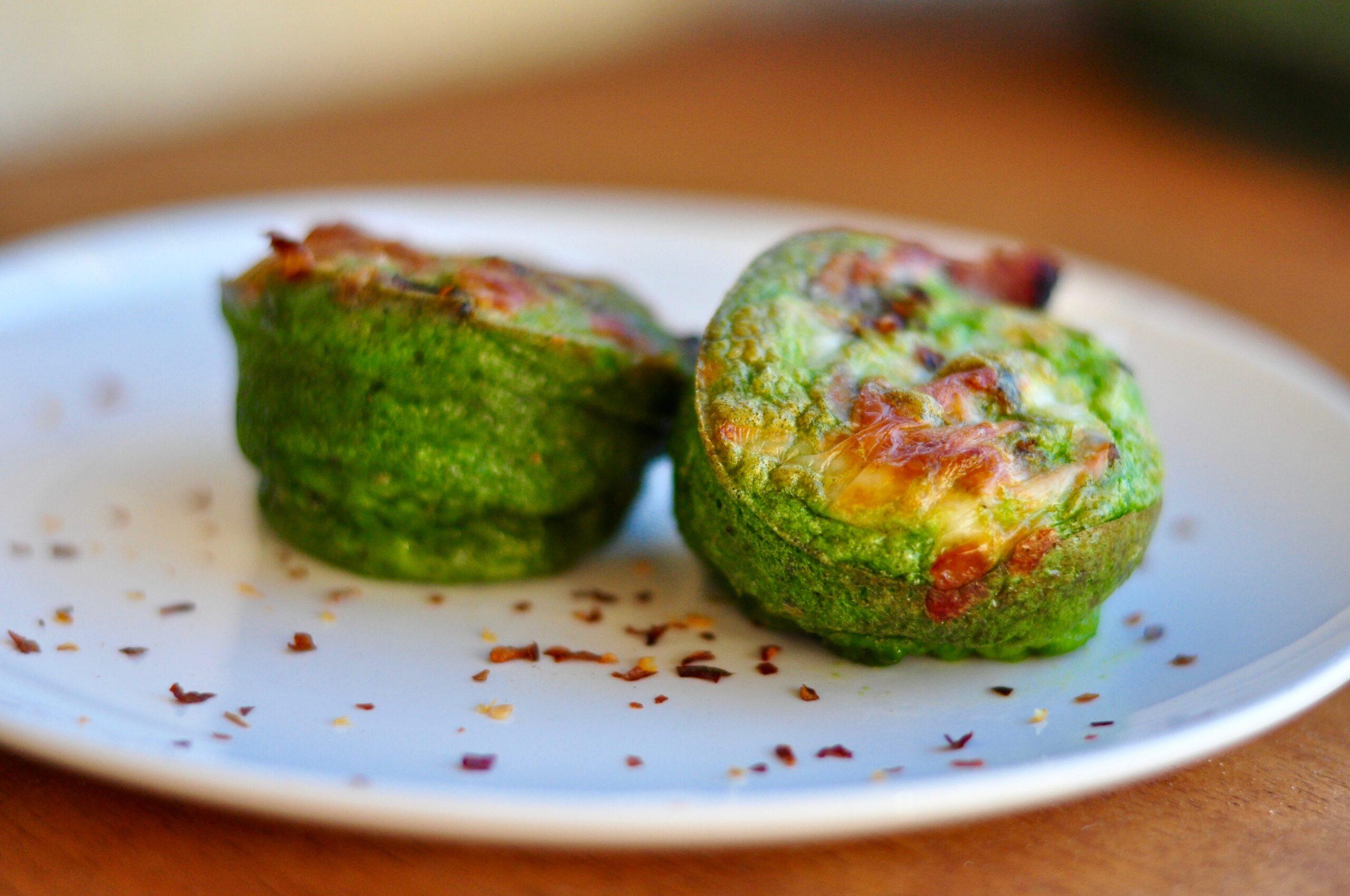 Easy Paleo Green Egg Cups