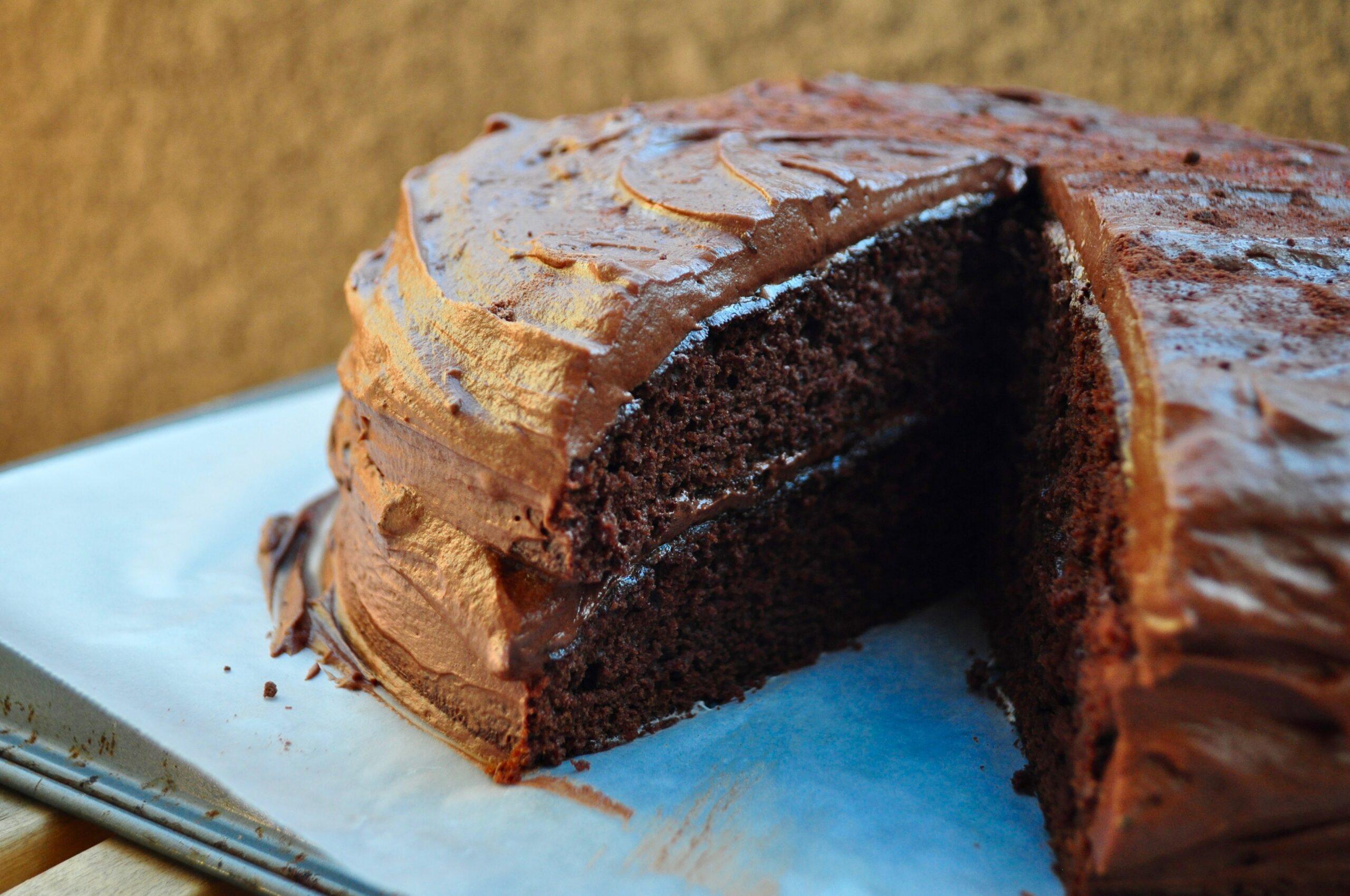 Kiss & Make-Up Salted Espresso Chocolate Cake