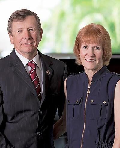 Dwayne McCay and Mary Helen McCay