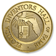 Florida Inventors Hall of Fame medal