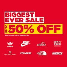 Biggest Ever Sale