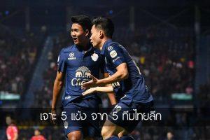 เจาะ 5 แข้ง จาก 5 ทีมไทยลีก