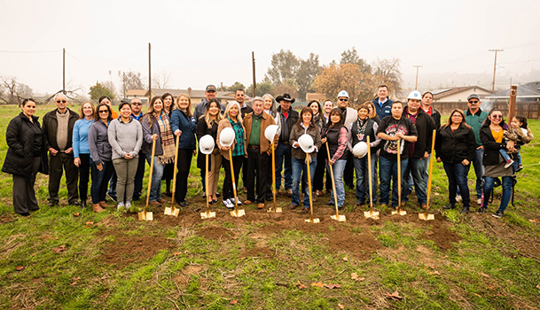 Native American Bank Helps Tule River Tribe of California Break Ground for Uniquely Financed Affordable Housing Complex