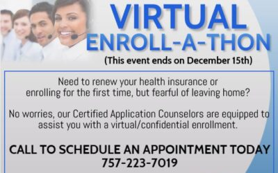 Health Insurance Virtual Enroll-A-Thon Now Thru Dec 15