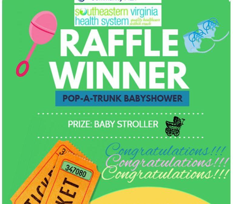 Community Baby Shower Raffle Winner Announced