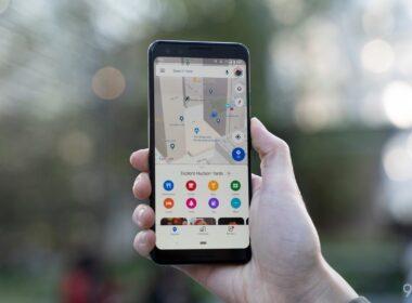 google maps recent update