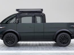 Canoo electric pickup truck