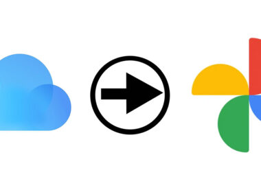 transfer photos from iCloud library to Google photos