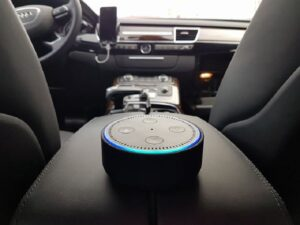 control car using an alexa command