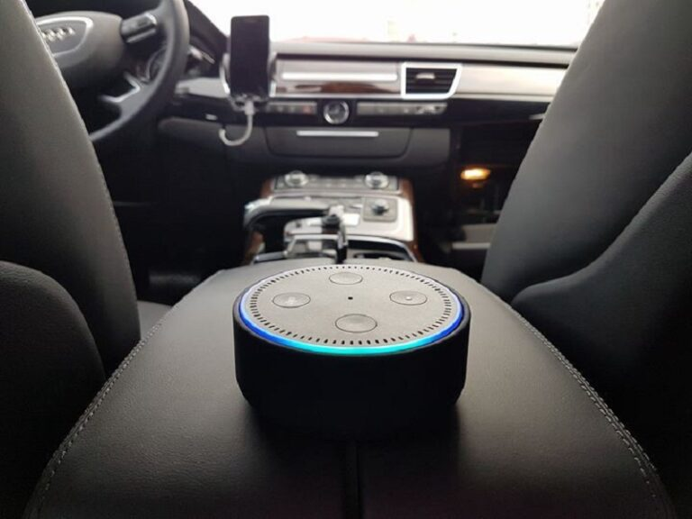 control car using an alexa command