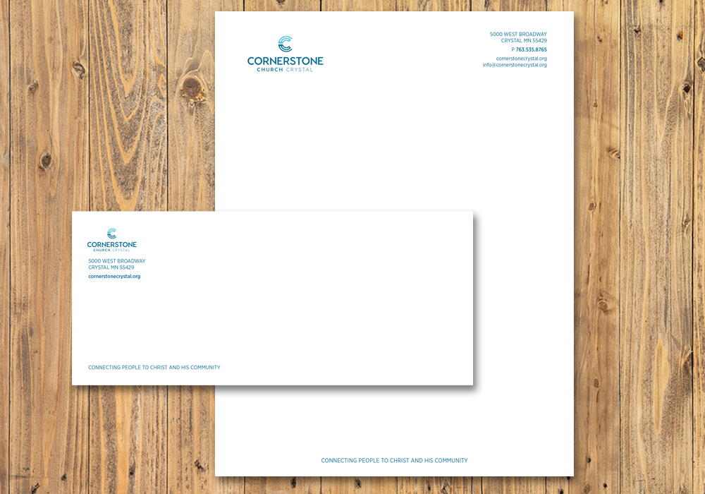 Cornerstone stationery