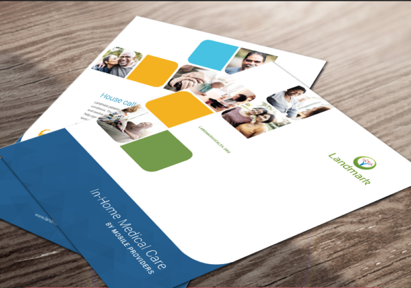 Landmark Health Print Collateral