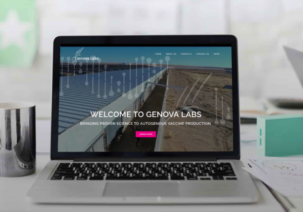 Genova Labs Website Design + WordPress
